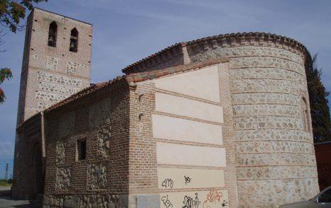 Ermita de Santa María la Antigua, fotografiada desde la calle de Monseñor Óscar Romero.